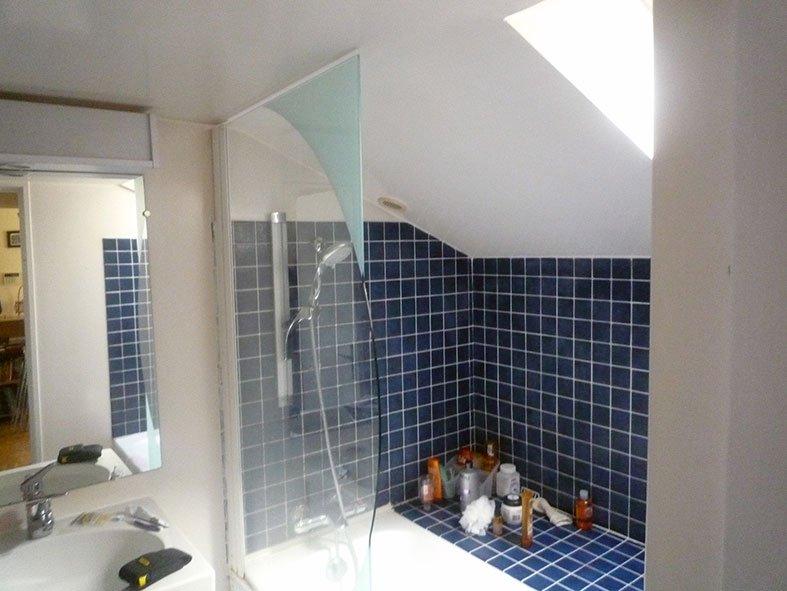 Salle de bain à Port-Marly Base 1