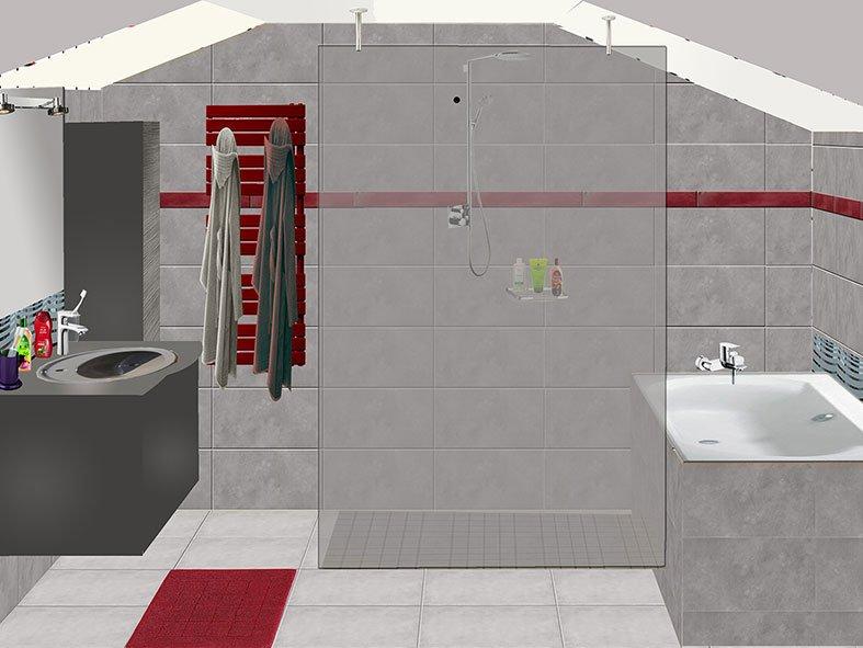 Salle de bain à Port-Marly Projet 1