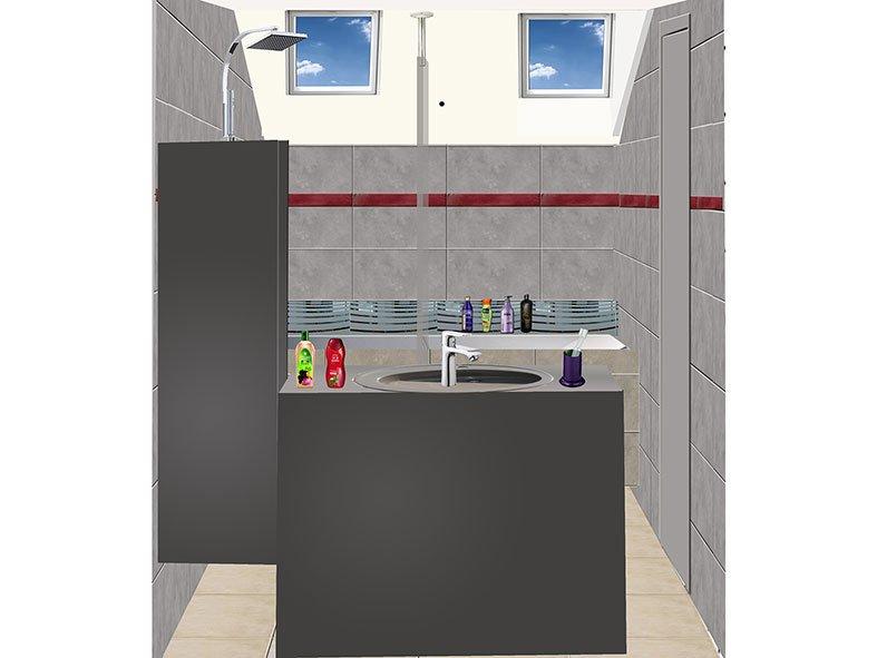 Salle de bain à Port-Marly Projet 2