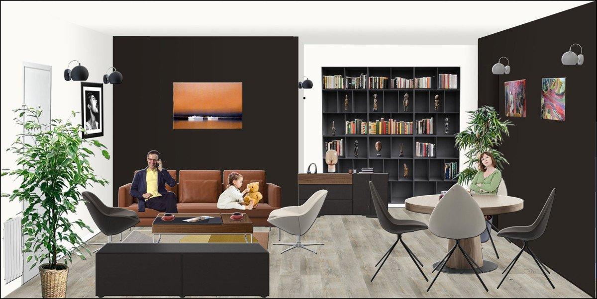 Décorateur d'intérieur EDD Salon Style design