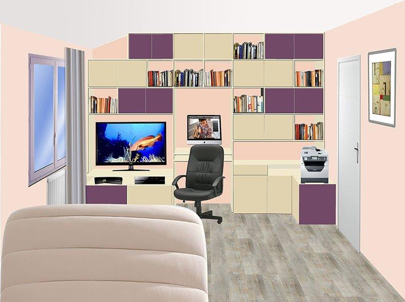 Chambre à Port-Marly Projet 2