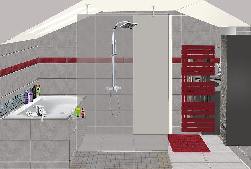 Salle de bain à Port-Marly Projet 4